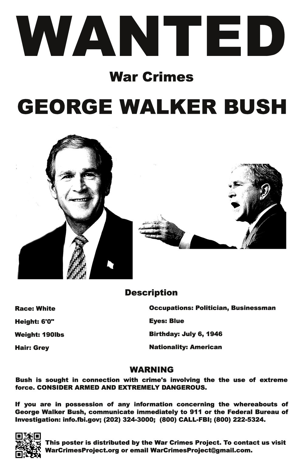 Bush decision pdf george points