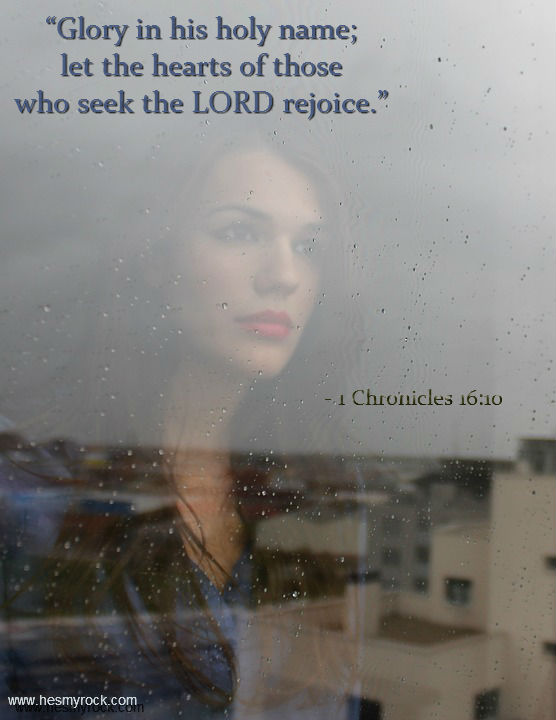 1 Chronicles 16:10