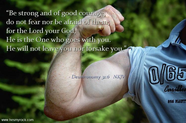 Deuteronomy 31:6 NKLV