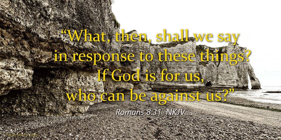 Romans 8:31 NKJV