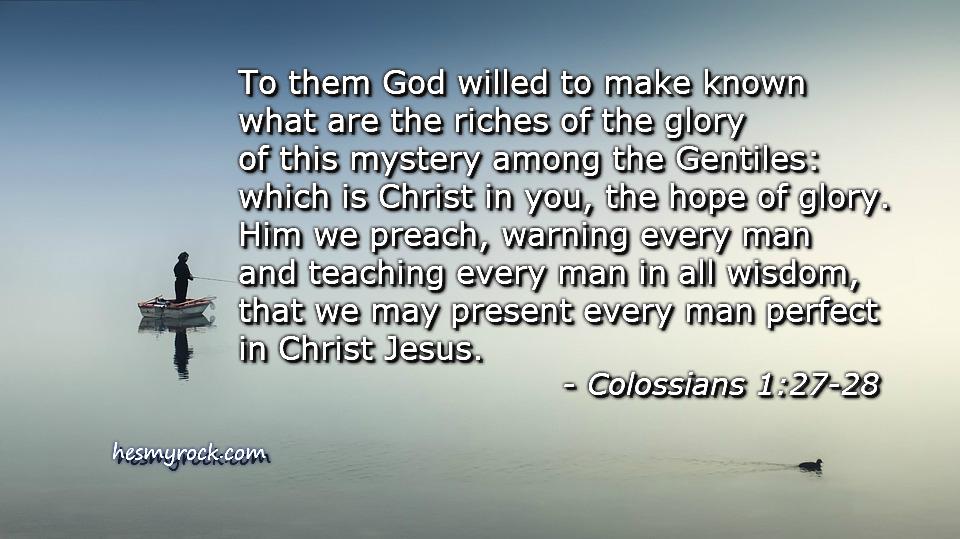 Colossians 1:27-28