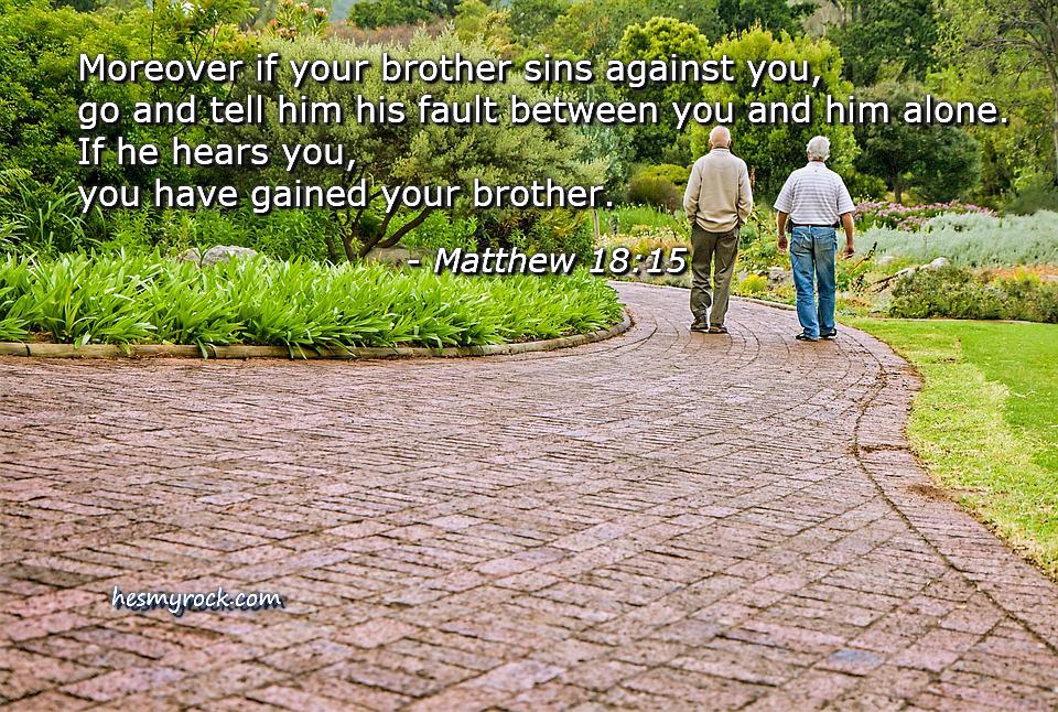 Matthew 18:15