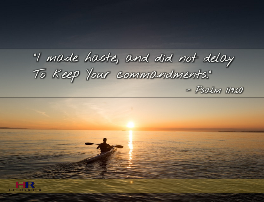 Psalm 119:60