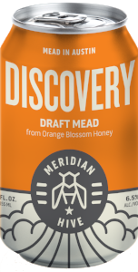 Discovery Draft Mead Session Mead In a Can Orange Blossom | Hydromel