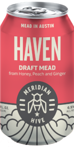 Haven Draft Mead Session Mead In a Can Orange Blossom Peach Ginger | Hydromel