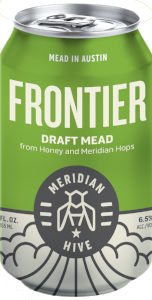 Frontier Draft Mead Session Mead In a Can Orange Blossom Honey Hops | Hydromel