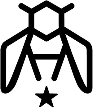 MH Bee Logo - WhiteBackground