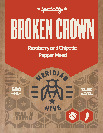 Broken Crown Raspberry and Chipotle still mead