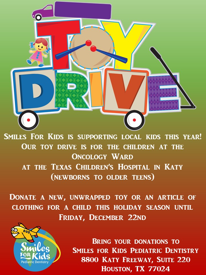 Toy Drive Flyer : — smiles for kids