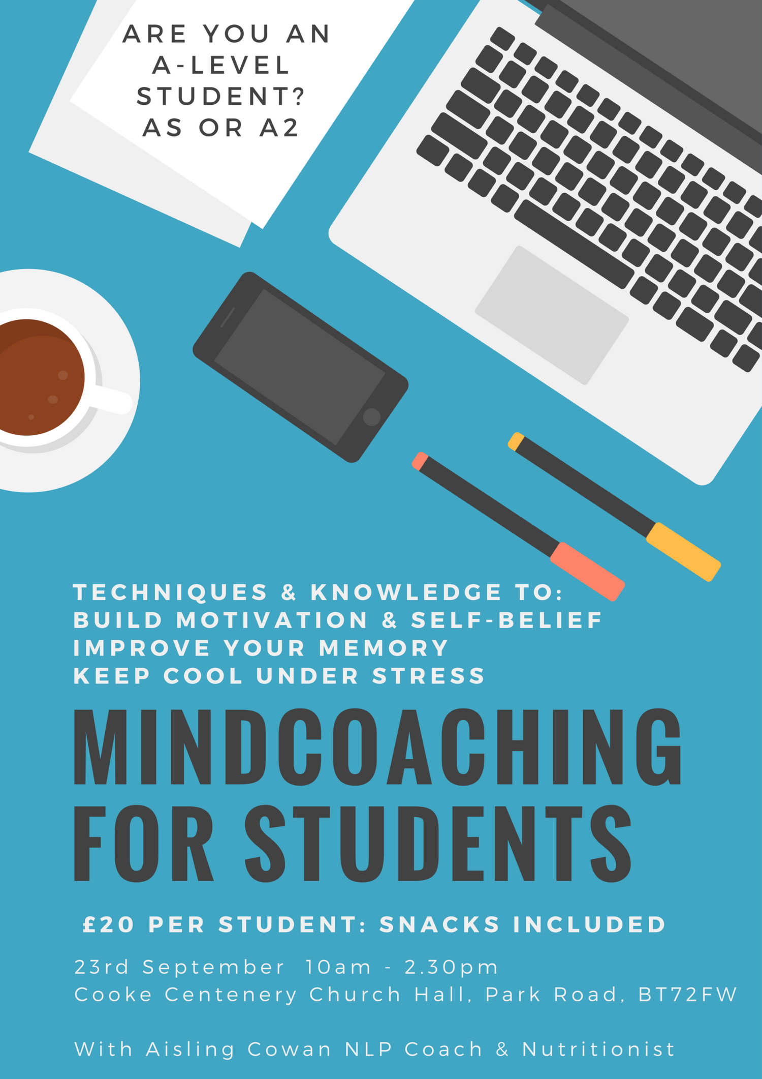 POSTPONED: Mindcoaching for Students