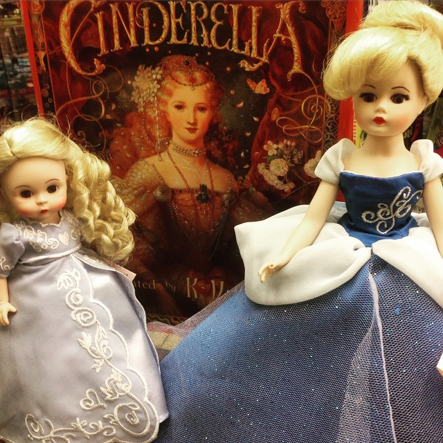 Cinderella! Madame Alexander Dolls a perfect gift for a summer birthday! #Cinderella #Madamealexander #neworleans #nola #frenchquarter