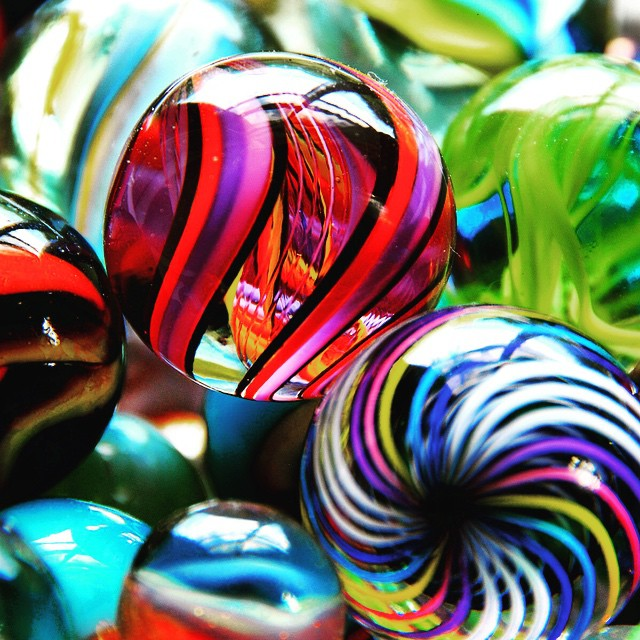Marbles the toy that never go out of fashion! #nola #neworleans #frenchquarter #toys #marbles