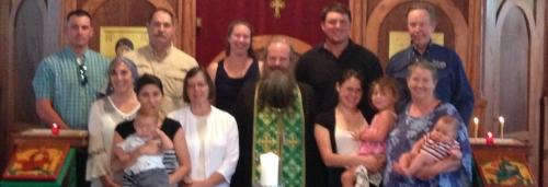 Fr Gerasim's Visit - June 2015