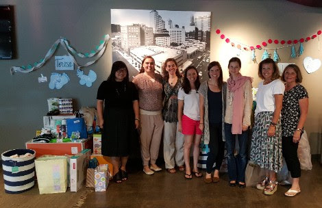 Jessica attends a baby shower for an expectant refugee mother!