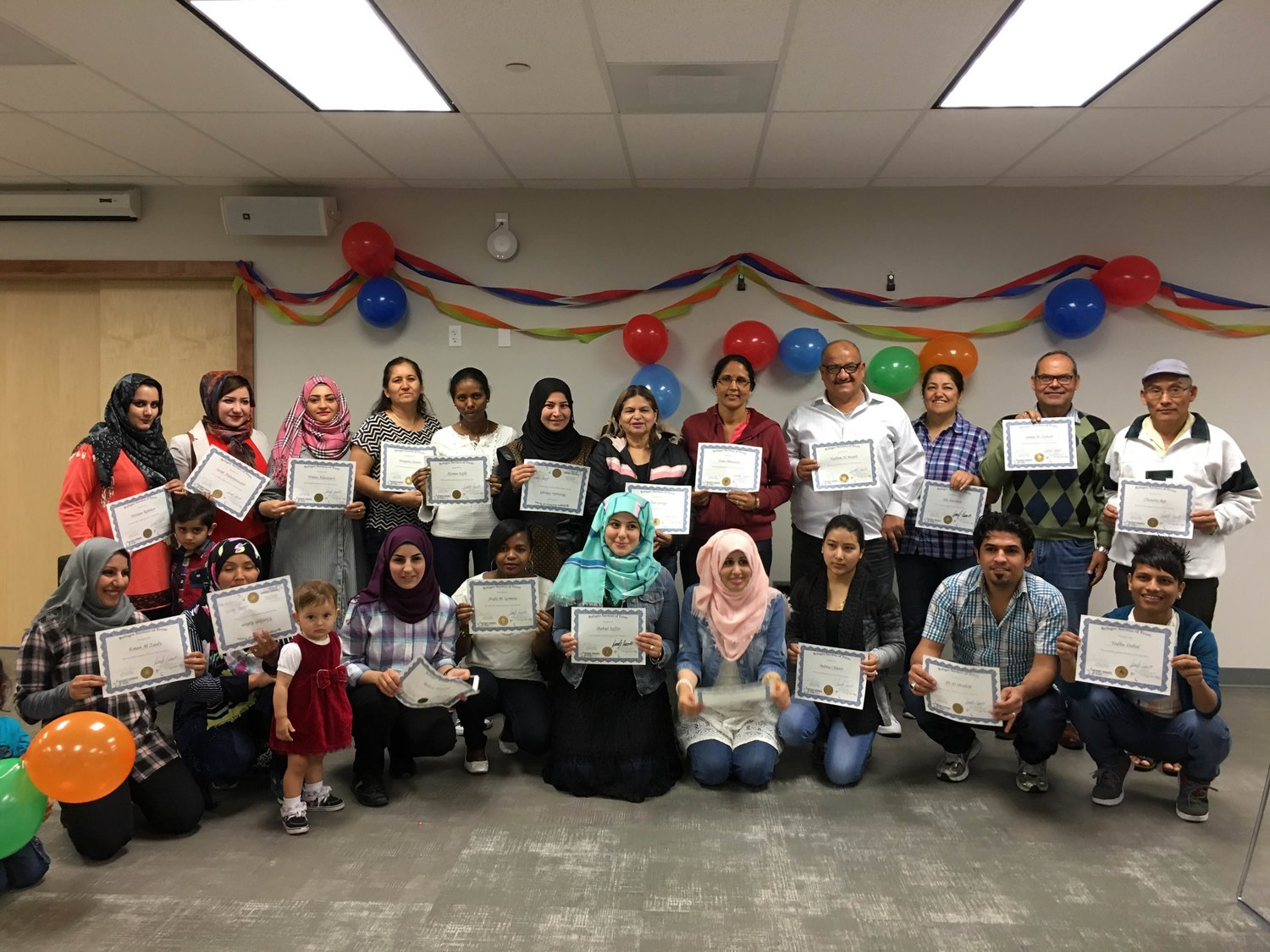 English as a Second Language — Refugee Services of Texas