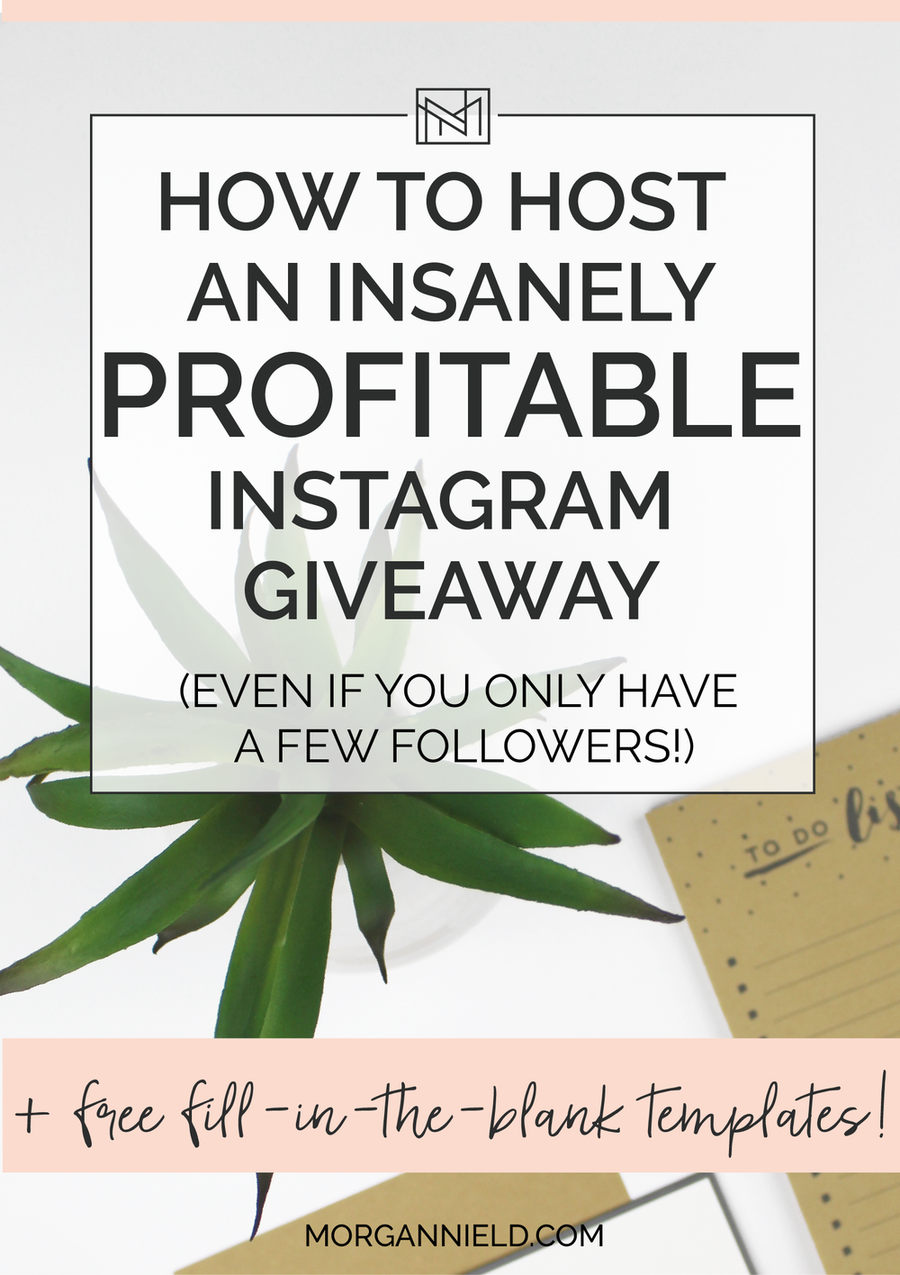 If you're looking to jump-start your Instagram followers by a few hundred (at least!), then it's worth looking into hosting a giveaway promotion on Instagram. The best news? You don't need to have hundreds of followers to host an EXTREMELY PROFITABLE Instagram giveaway-- I promise! Click through to learn my top tips for making the most $$$ during your giveaway >>