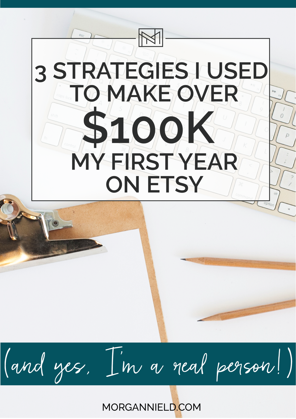"3 Strategies I Used to Make Over $100K My First Year on Etsy | I'll be honest and say that I didn't have a clue what I was doing when I first started selling on Etsy, and I certainly didn't start doing these things because I ""knew"" they would work— I just tried a heck of a lot of different things and these seemed to be some of the best ones that I implemented— and definitely brought me major $$$ in return!! Click through to read >>"