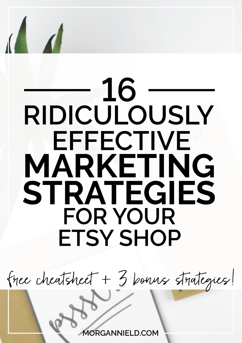 "16 Ridiculously Effective Marketing Strategies For Your Etsy Shop | These aren't your basic ""suggestions"" -- they're real-deal actionable ideas to follow-through with and watch your Etsy sales explode. Click through to take charge of your Etsy sales! >>"
