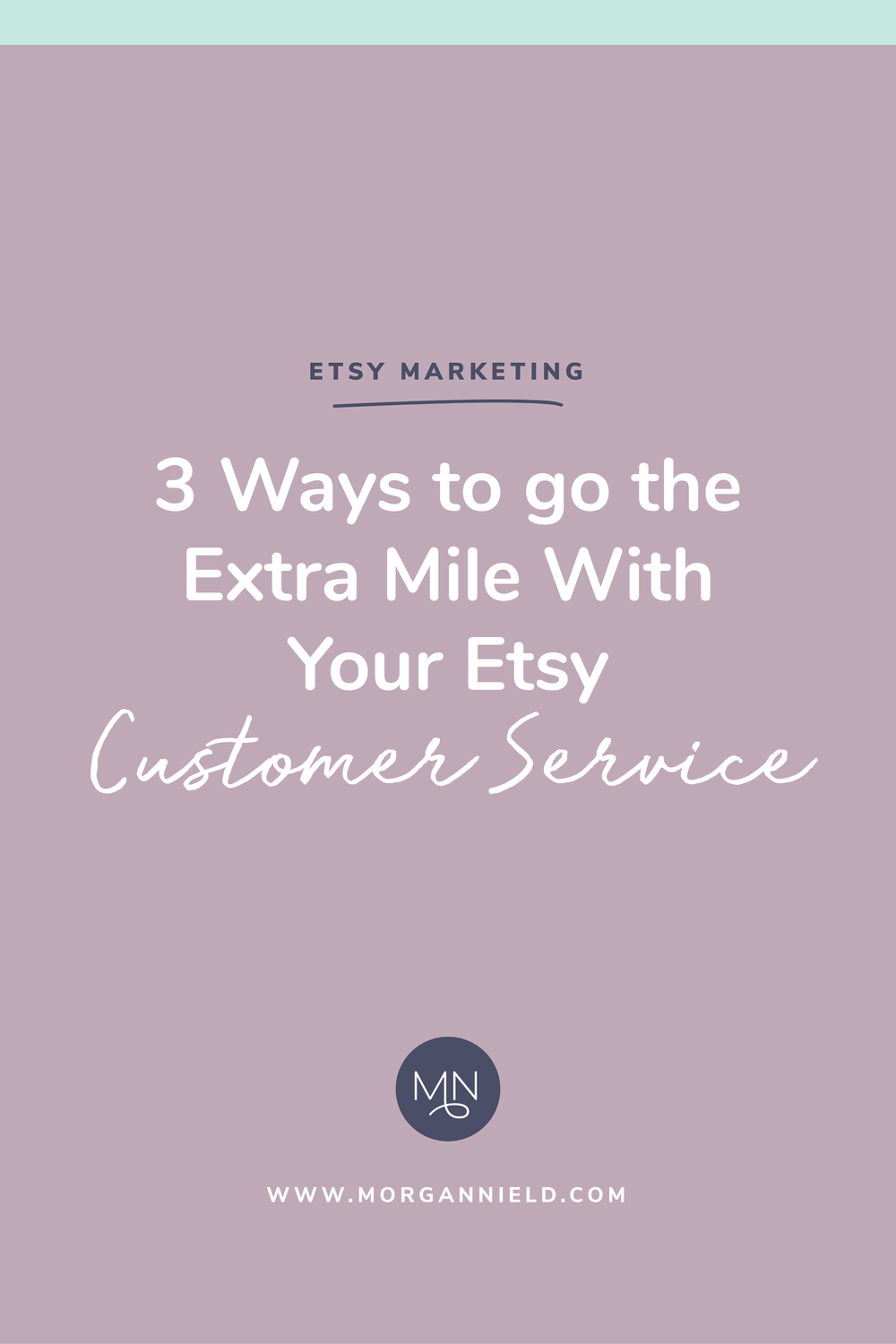 Customer service on Etsy is KEY to exponential growth and long-term success. You can implement all the Etsy marketing tips in the world, but if you aren't providing your customers with a positive shopping experience, they WON'T come back. Let me share with you my top 3 tips for earning yourself those valuable repeat customers and, ultimately, making more sales! >>