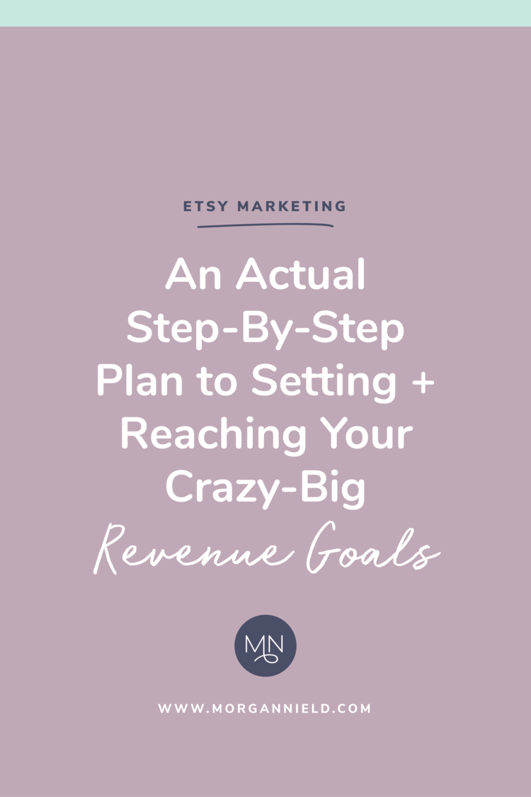 an actual step by step plan to setting reaching your crazy big revenue goals morgan nield