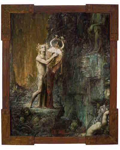 Pierre Amédée Marcel-Béronneau.Orpheus in Hades (Orphée), 1897.Oil on canvas, 194 x 156 cm. Musée des Beaux-Arts, Marseille. Photo: © Claude Almodovar/Collection du Musée des Beaux-Arts, Marseille.