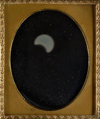 William Langenheim (American, born Germany, Schöningen 1807–1874) and Frederick Langenheim (American, born Germany, Schöningen 1809–1879),Eclipse of the Sun, 1854, Daguerreotype. The Metropolitan Museum of Art, Gilman Collection, Gift of The Howard Gilman Foundation, 2005.