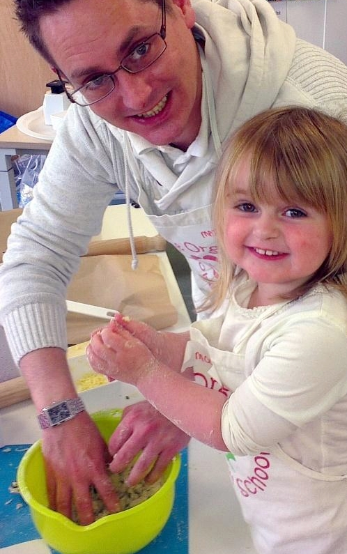 Cooking With Dad - The Organic Cookery School