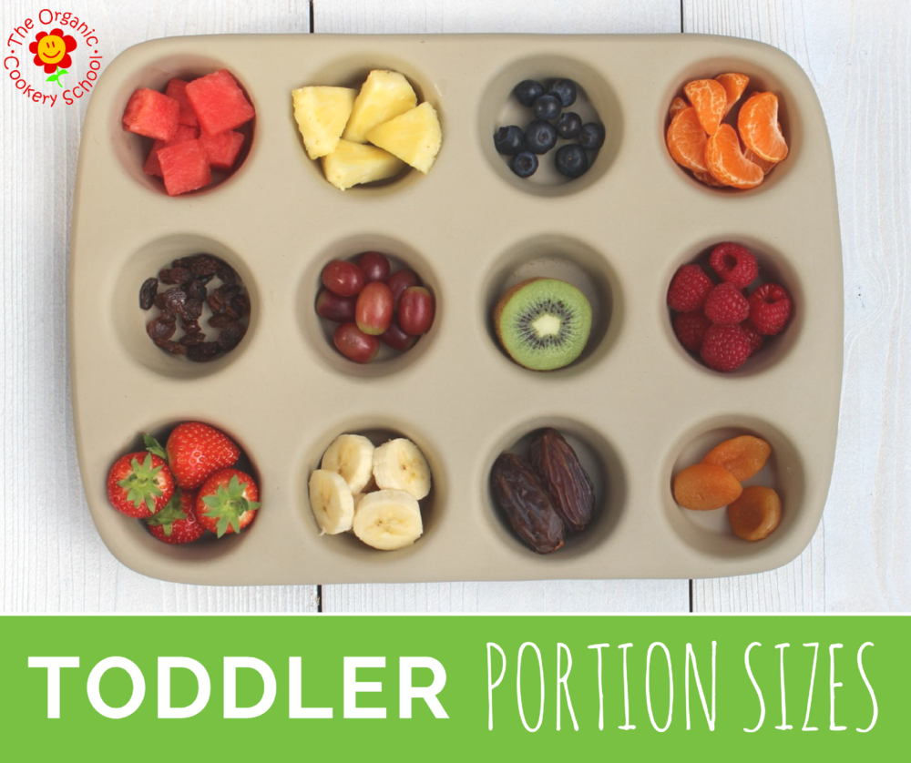 Toddler Portion Sizes - the Organic Cookery School