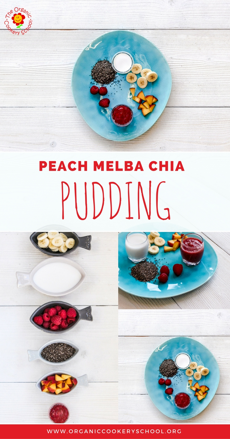 The Organic Cookery School Peach Melba Chia Pudding Baby Weaning Toddlers Recipe jpg.jpg