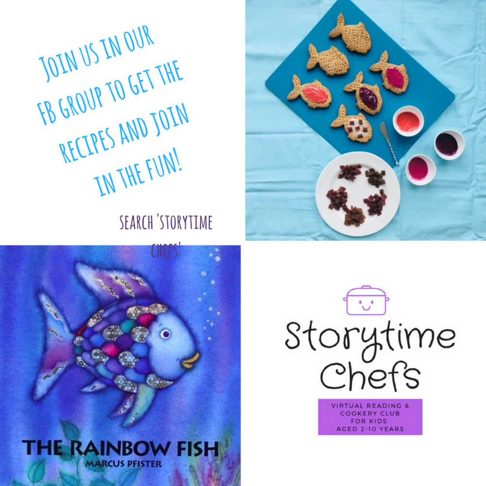 JOIN THE STORYTIME CHEFS VIRTUAL READING AND COOKING CLUB