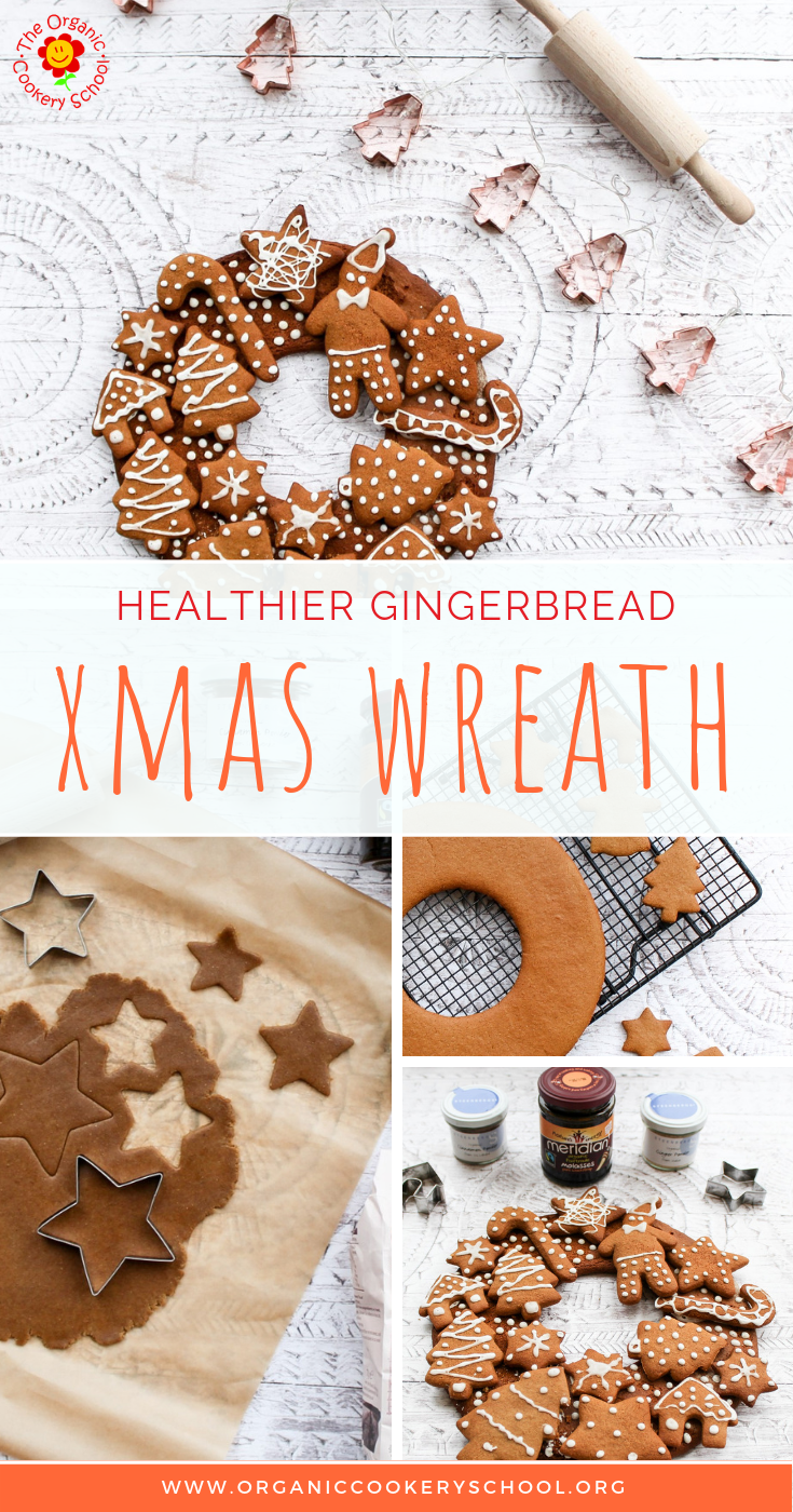 HEALTHIER GINGERBREAD CHRISTMAS WREATH - The Organic Cookery School.png
