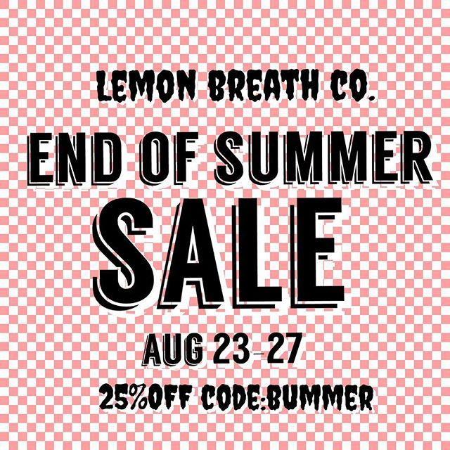 Hey guys!! Since I'm going to be VERY pregnant during the holidays, I'm probably not going to be doing any Black Friday or Christmas sales which means.. this is most likely going to be the last sale of the year!! I'm feeling good and ready to bust out some cute tees for you all! ❤️🍋⚡️❤️