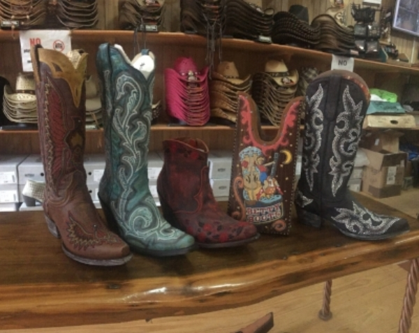 When I decided to write this post about boots, I set out to my favorite boot store in downtown Nashville called Betty Boots. I really like a good ole pair of everyday boots but when it comes down to it, I'm always on the hunt for different, unique boots and they've got em. They have boots ranging from $300 to $3000 so if a $$$ make you holla, head on down there because they have the best high end boot options. They do usually run a 30% off sale though ;) I chose my favorite boots they had in store at different price points. You can find them at   Facebook.com/bettybootsnashville   or   @bettybootsnashville   and tell em' I sent ya!