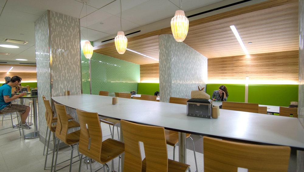 New York University Weinstein Residence Hall Kitchen Dining