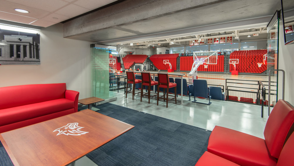 Suny Stony Brook Arena Renovation Modernization Nk Architects