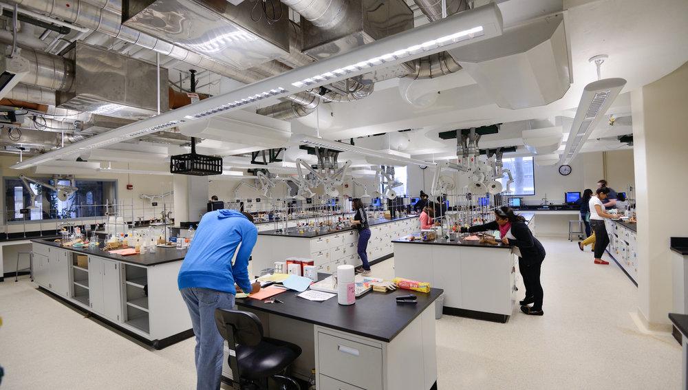 Rutgers University Olson Chemistry Lab Nk Architects