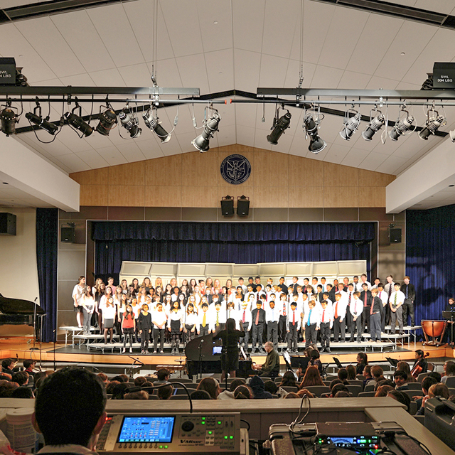 Montclair Kimberley Academy Middle School Auditorium