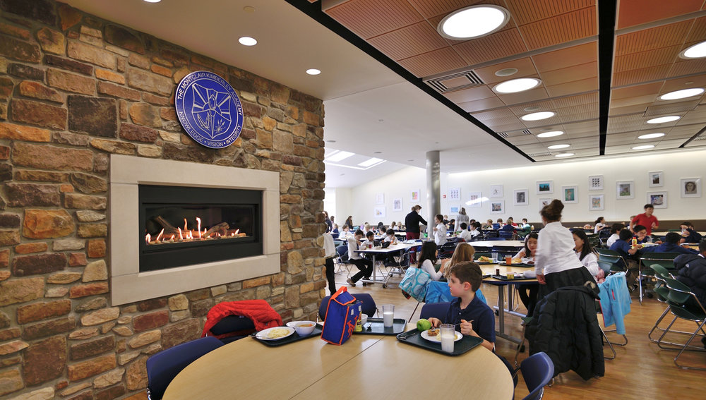 Montclair Kimberley Academy Middle School Dining Renovation