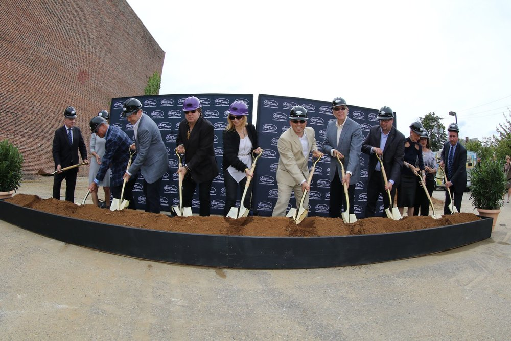 Campaign donor's officially break ground