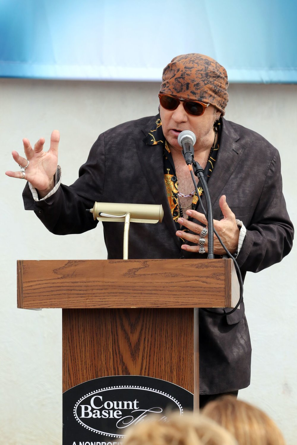 Capital Campaign Honorary Co-Chair Steven Van Zandt