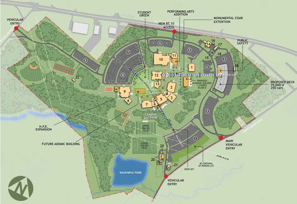 County College of Morris Master Plan — NK Architects