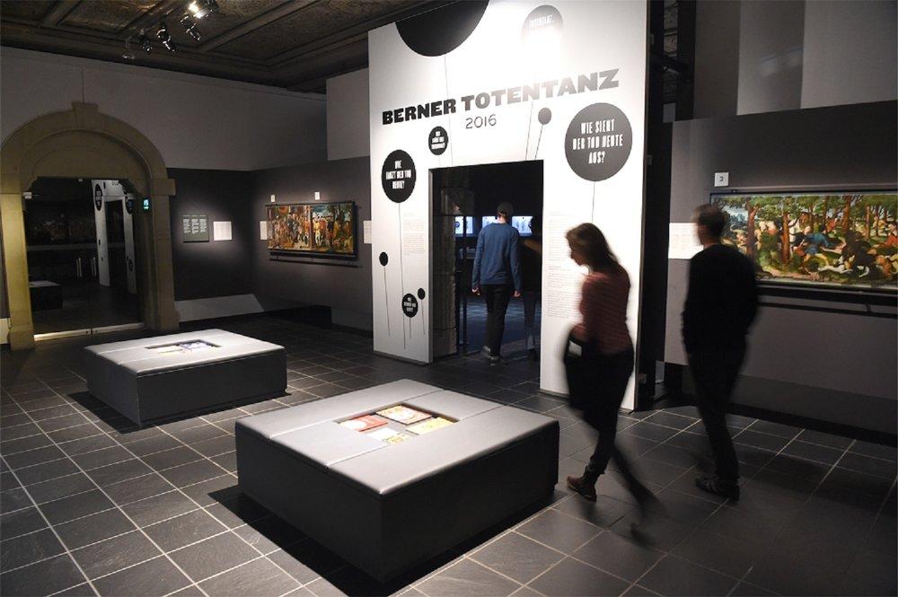 Eingang zur Kabinettausstellung