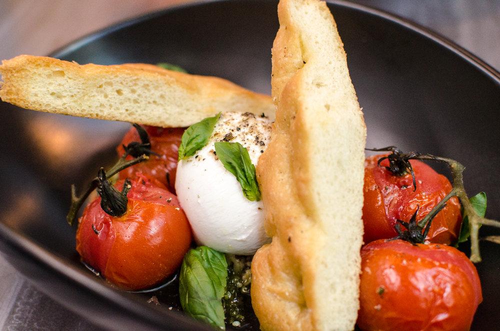 Brigitte's Burrata & Tomatoes