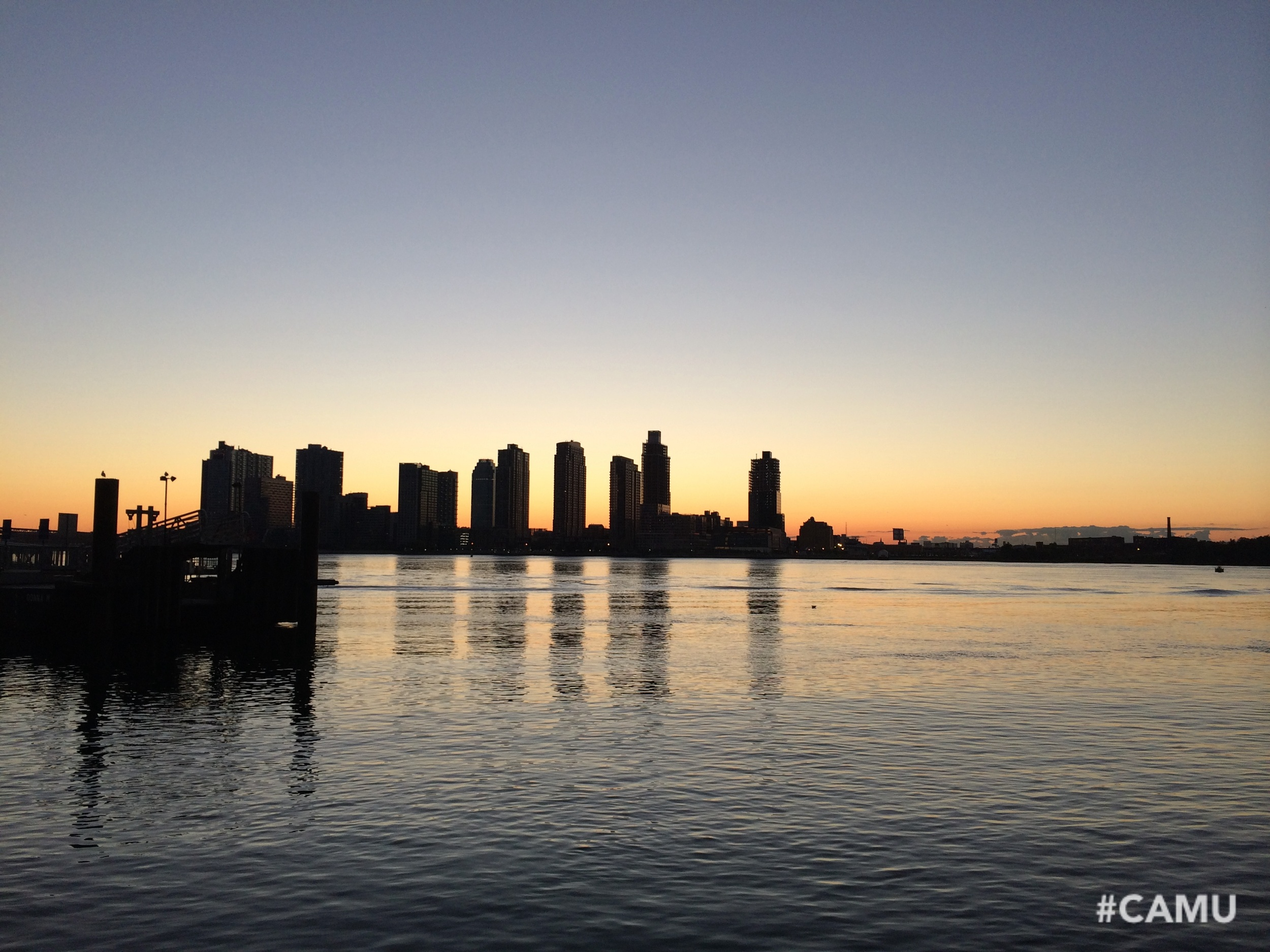 Ah NYC sunrise