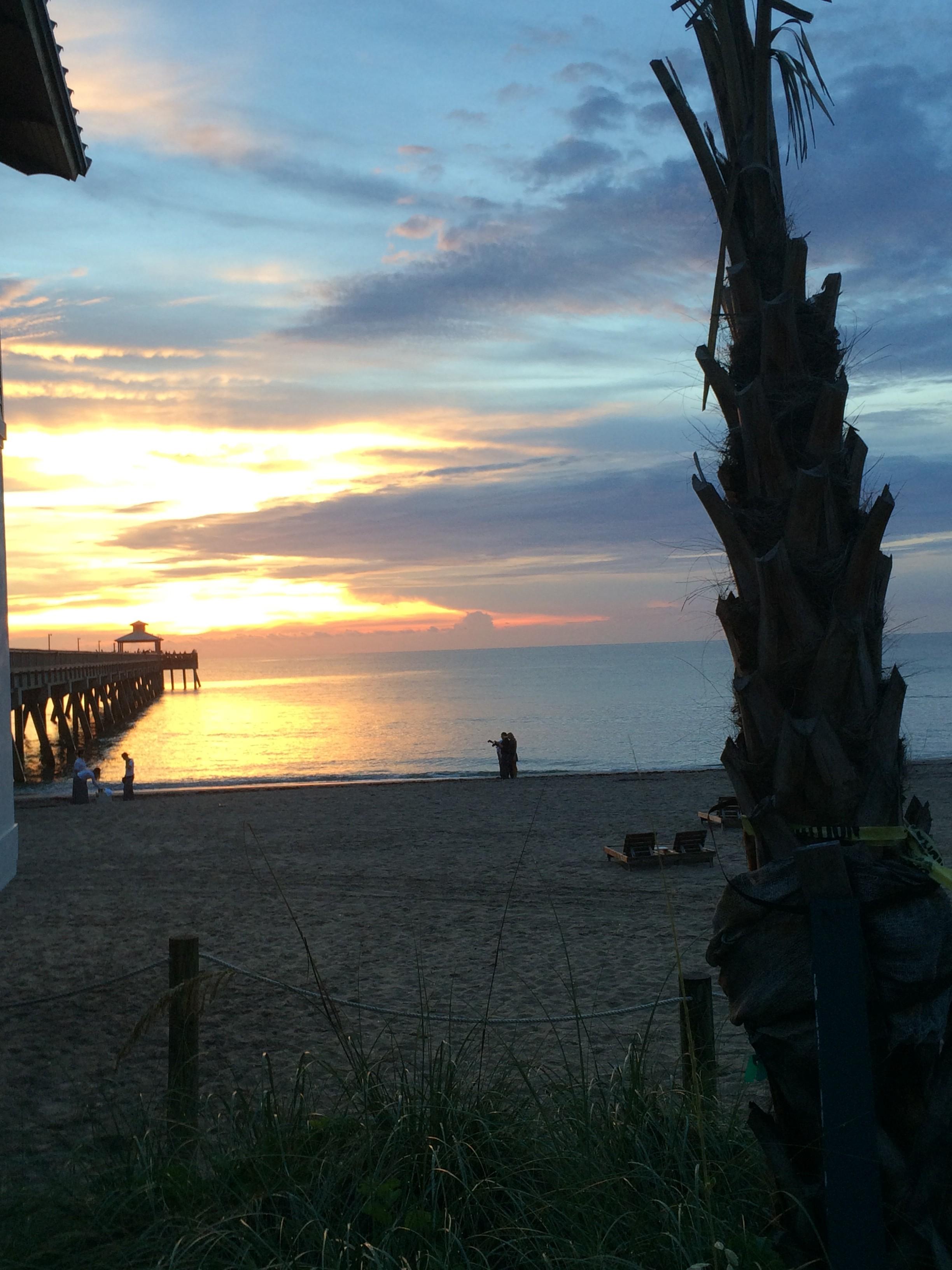 Delray Beach sunrise...
