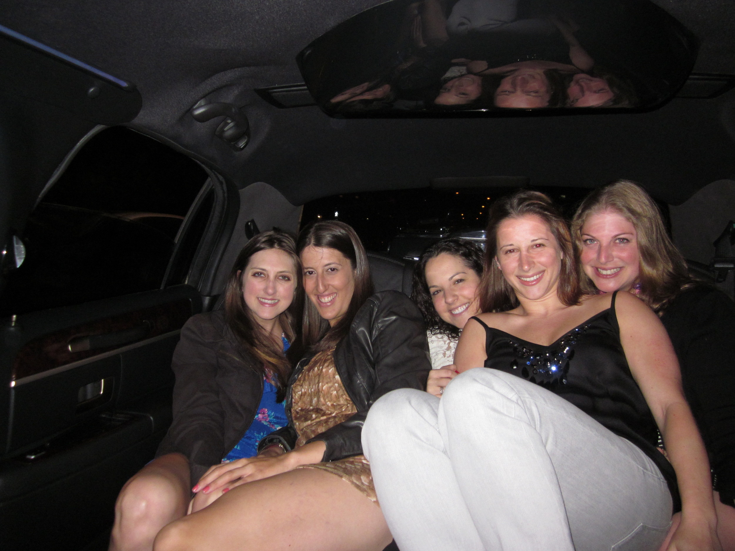 Marissa's birthday limo ride