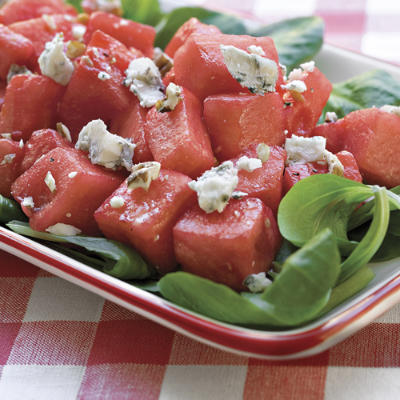 Watermelon and feta = amazing combo