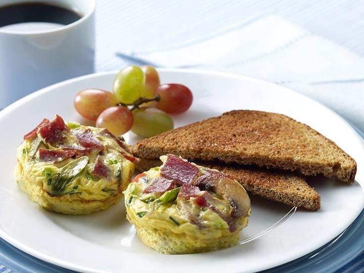 Mini-egg muffin