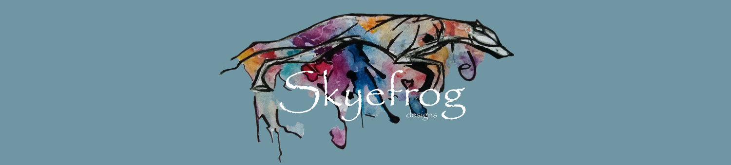 Skyefrog Designs Martingale and Tweed Dog Collars