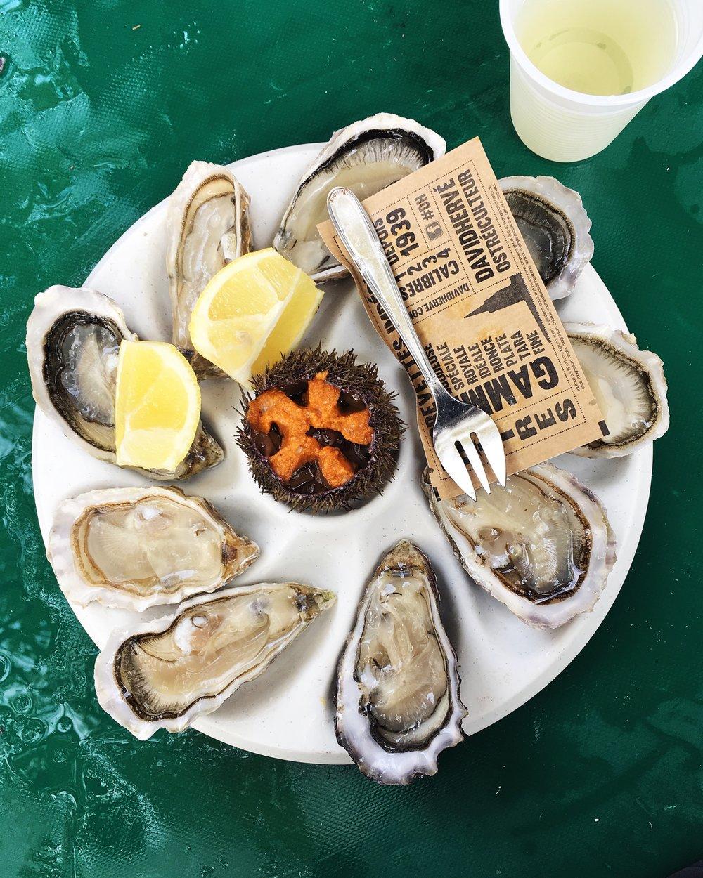 Bastille Market Oysters